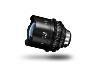 SIGMA CINE 20mm T1.5 (C) 2018 Duclos Lenses, Inc.