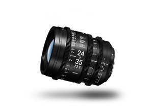 SIGMA CINE 24-35mm T2.2 (C) 2018 Duclos Lenses, Inc.