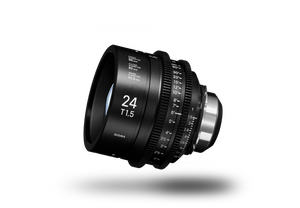 SIGMA CINE 24mm T1.5 (C) 2018 Duclos Lenses, Inc.