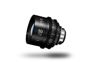 SIGMA CINE 50mm T1.5 (C) 2018 Duclos Lenses, Inc.