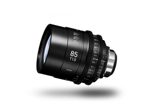 SIGMA CINE 85mm T1.5 (C) 2018 Duclos Lenses, Inc.