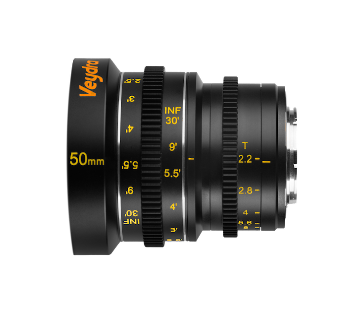 Veydra 50mm T2 2 Mini Prime