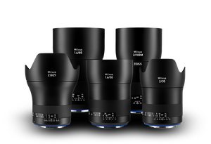 Zeiss Milvus ZE Lens Set