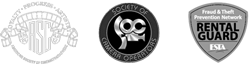 Support of American Society of Cinematographers (ASC), Society of Camera Operators (SOC), and Production Equipment Renters Group (PERG).