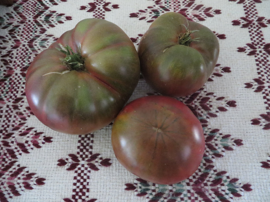 Green Shouldered Tomatoes- An Heirloom Favorite