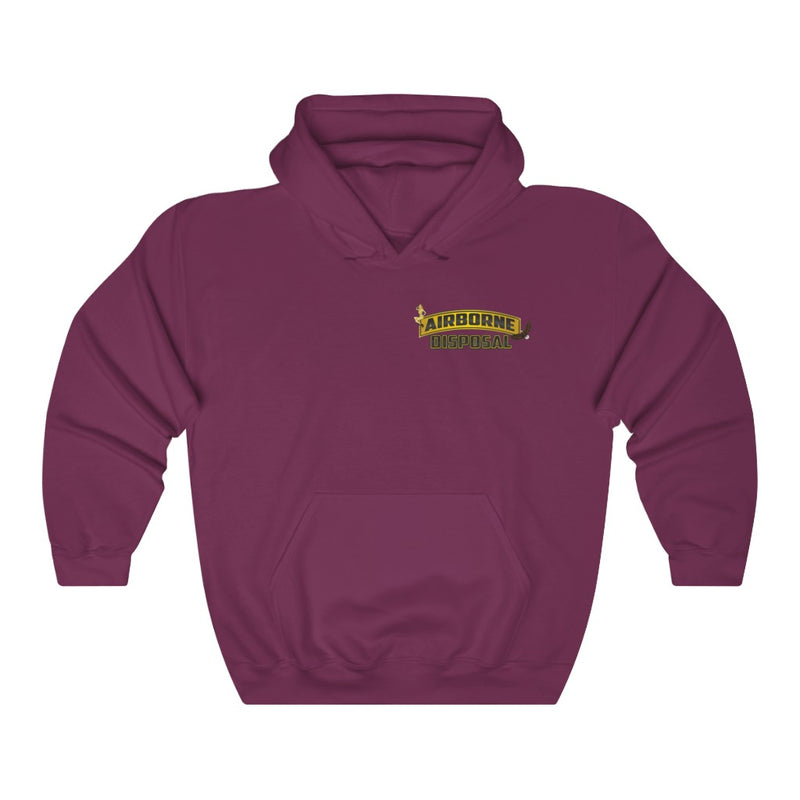 Airborne Disposal Heavy Blend™ Hoodie - RoyaleCart