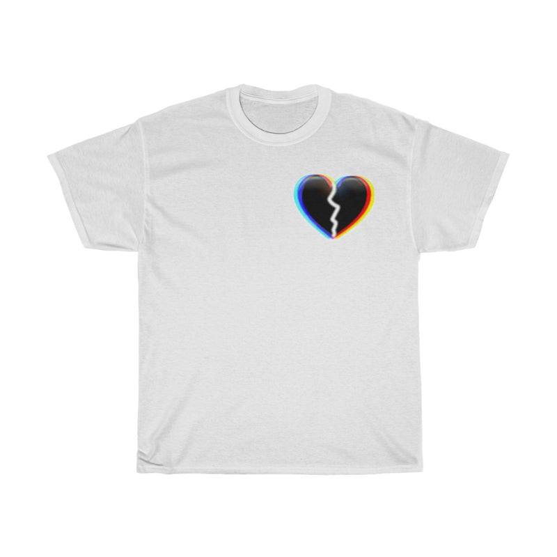 Broken heart Heavy Cotton Tee - RoyaleCart