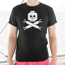 Plastic Block Pirates T-Shirt (Mens) - RoyaleCart
