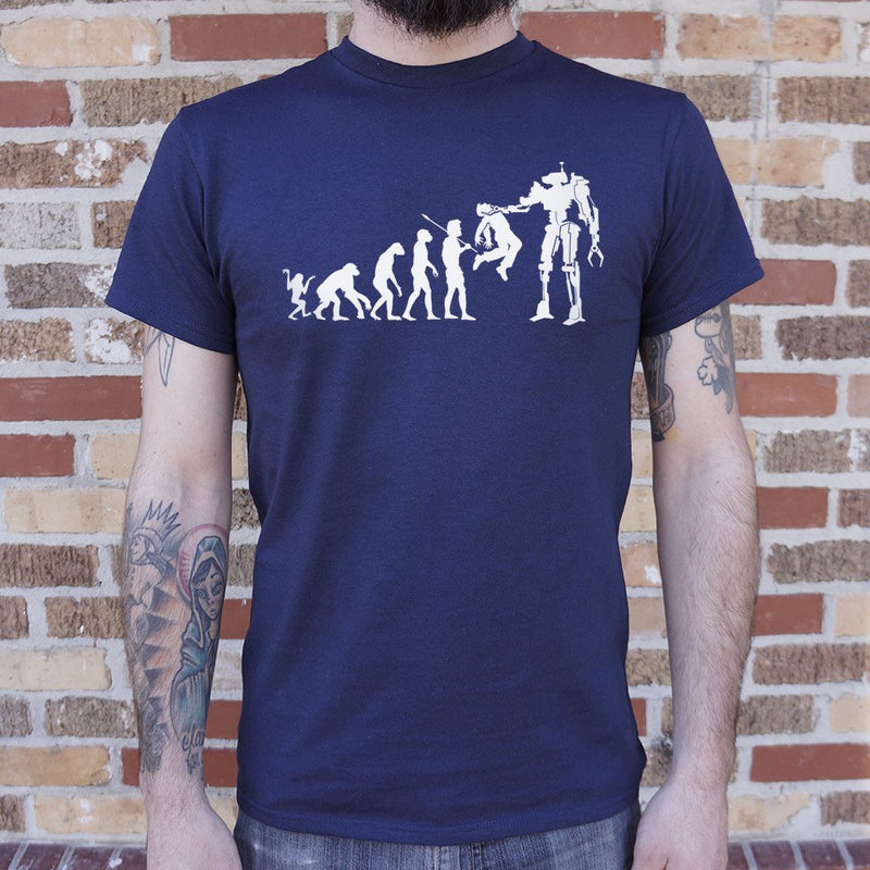 Evolution To Termination Technology T-Shirt (Mens) - RoyaleCart