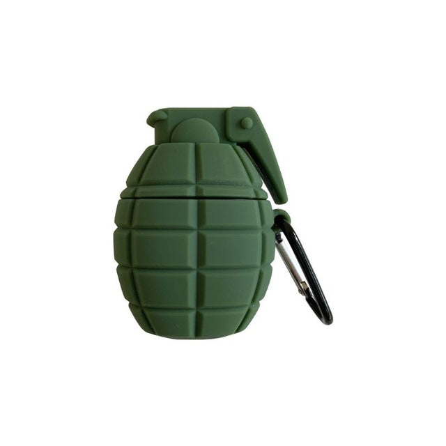 Grenade Shockproof Silicone Case Skin for Airpods - RoyaleCart