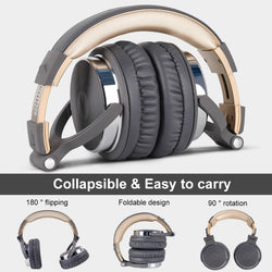 Oneodio Pro DJ Over Ear Headphones With Microphone - RoyaleCart