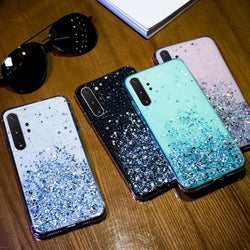 Glitter Star Cover For Samsung Galaxy Case 2018 - RoyaleCart