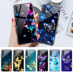 Butterfly Mirror Phone Case For Samsung Galaxy A3 - A9 (A10S - A70) - RoyaleCart
