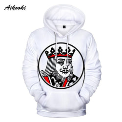 New KING QUEEN 3D Print Hoodies Sweatshirts Pullovers - RoyaleCart