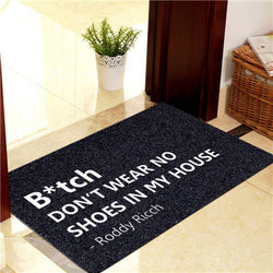 Roddy Ricch DoorMat Indoor Outdoor Floor Home Decorative Carpet Anti-Slip Rugs - RoyaleCart