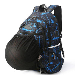 Large Sports Gym Basketball Soccer Ball Football Volleyball Backpacks Bags with Lock - RoyaleCart