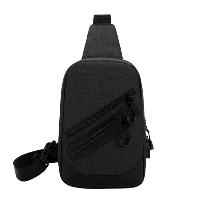 Smart USB Chest Messenger Backpack Bag - RoyaleCart