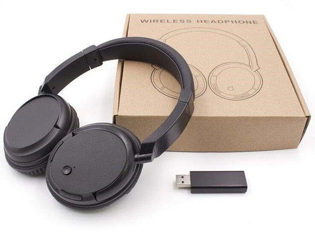 USB Wireless Over-Ear Headphones with FM Support - RoyaleCart