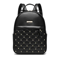 Women's Studded Ladies Bag PU Leather Backpack - RoyaleCart