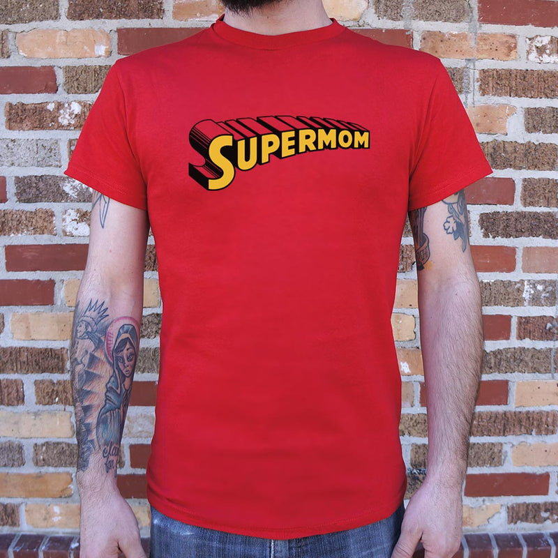 Supermom T-Shirt (Mens) - RoyaleCart