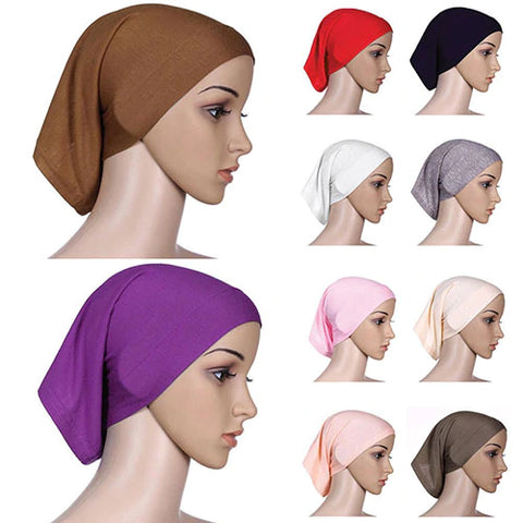 Cotton Underscarf Hijab Cover Headwrap