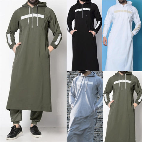 Islamic Jubba Thobe Long winter Robes