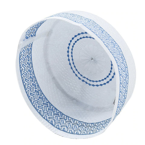 Cotton Embroidered Muslim Kufi