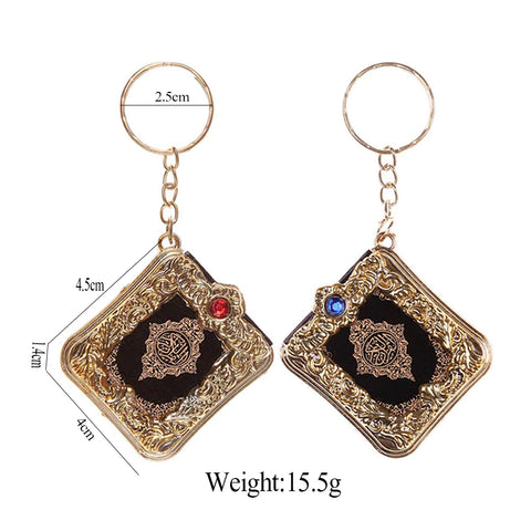 Mini quran keyring size and weight