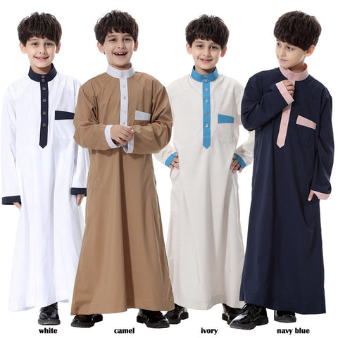 Muslim Boys Robe Clothing