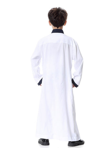 Muslim Boys White Thobes Clothing