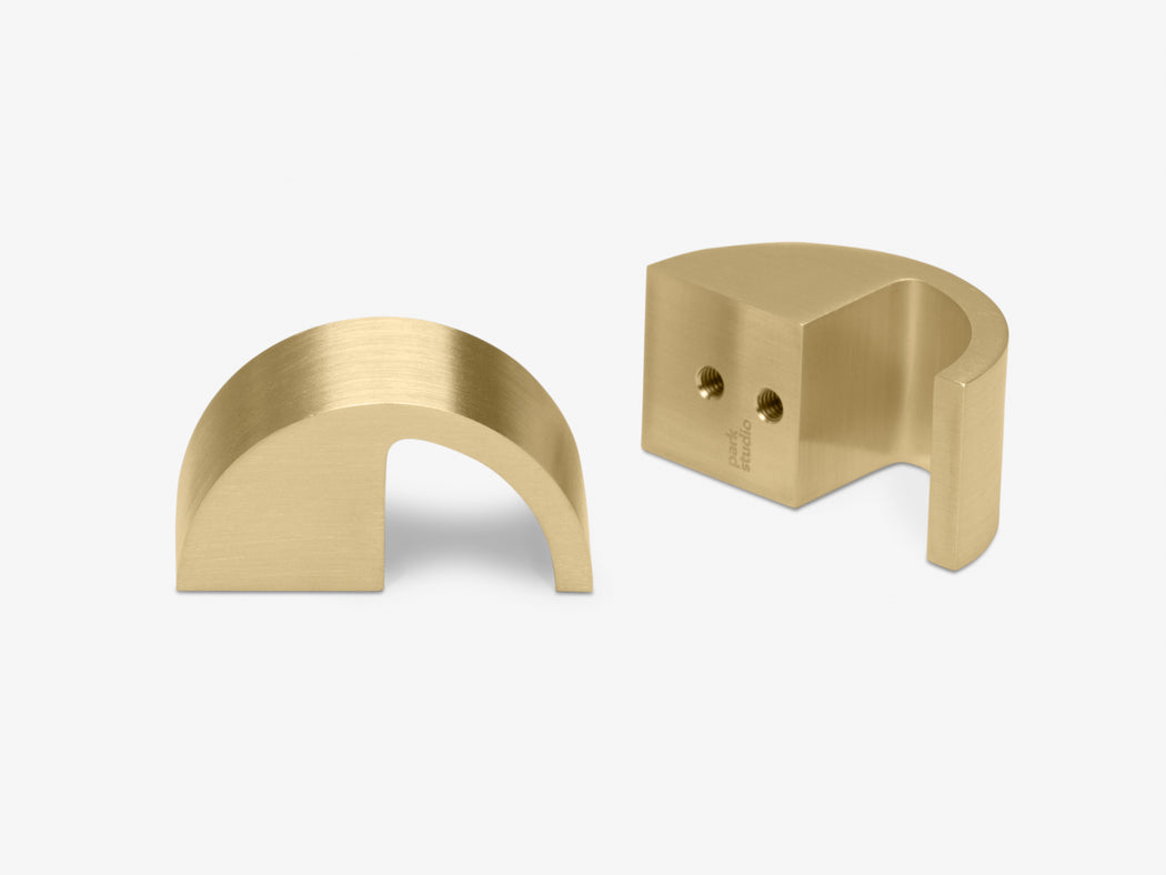 Sutter brushed brass