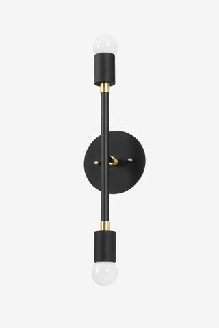 Sausalito Small / Black and Brass