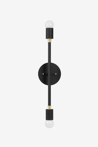 Sausalito Medium / Black and Brass