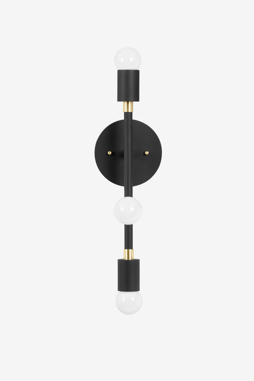 Tiburon Small / Black and Brass