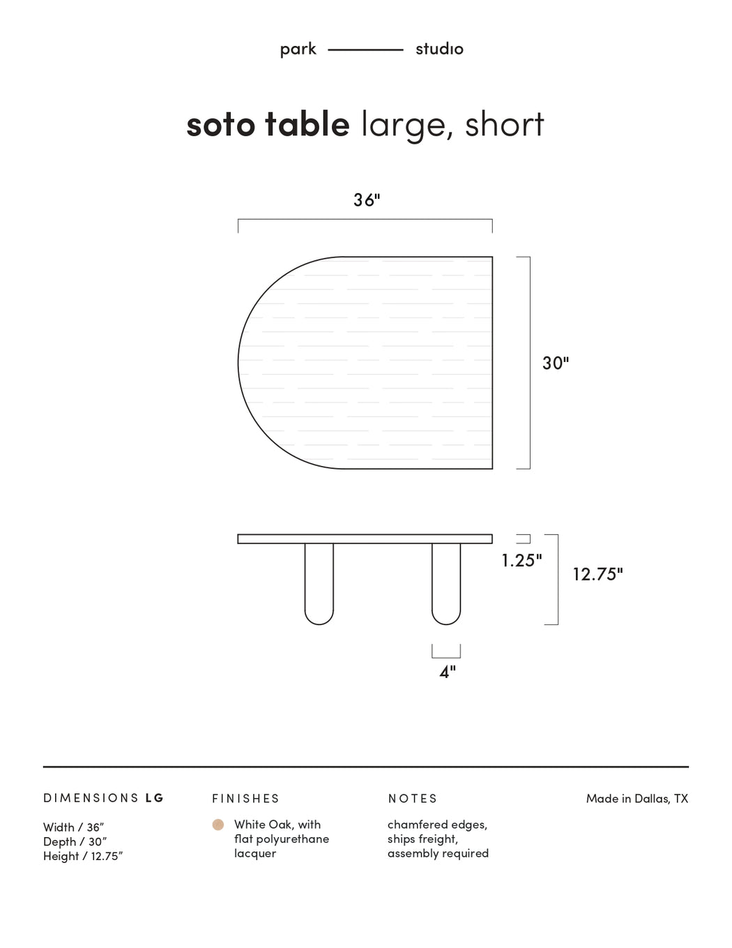 Soto Coffee Table
