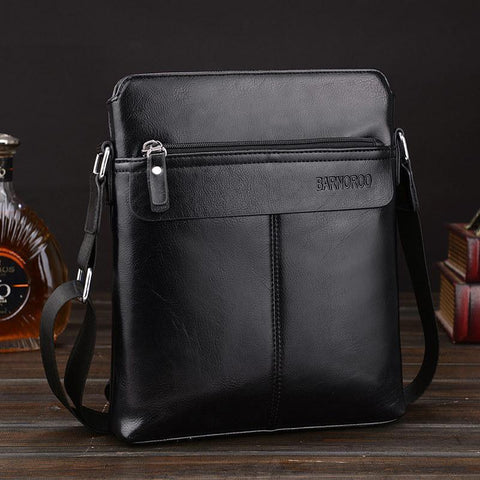 Casual Business Leather Messenger Bag