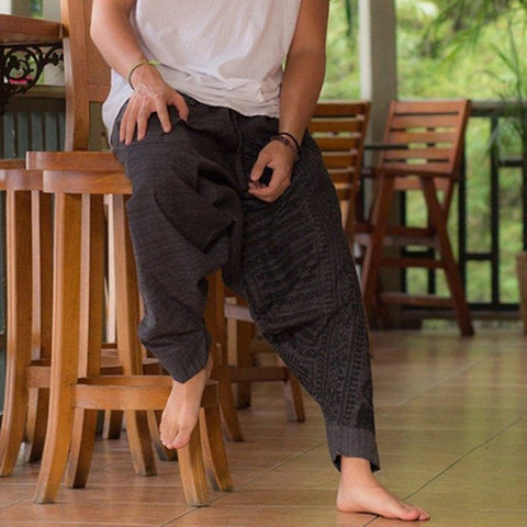 Fashion Mens Vintage Harem Pants
