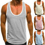 Men's Fashion Minimalist Striped Tank
