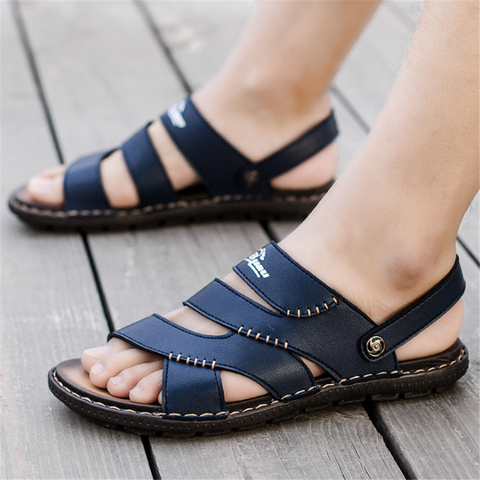 Men's Retro   Fashion Non-Slip Beach Sandals