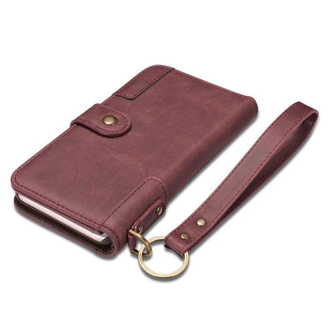 Multifunctional Leather Wallet Case For Samsung&Iphone