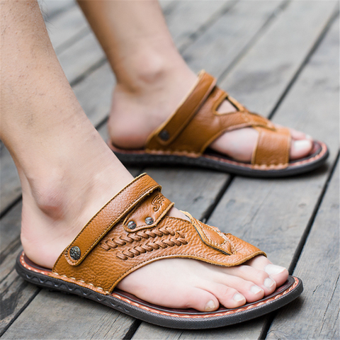 Men's dual-use beach sandals