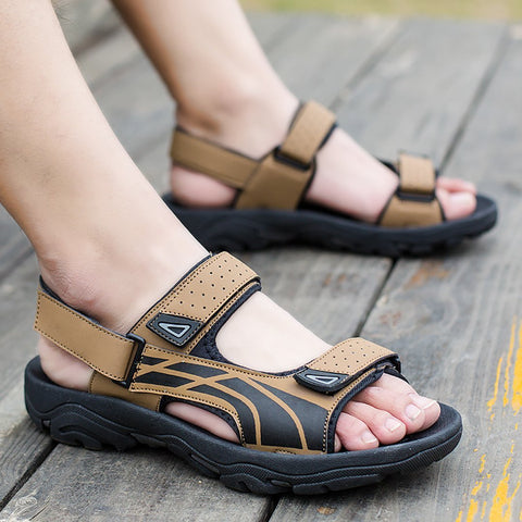 Men's Fashion Casual Breathable Thick Bottom Non-Slip Sandals