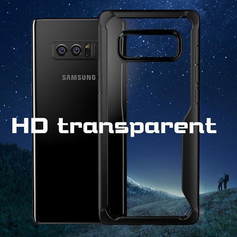 TPU Transparent Anti-Drop Phone Case For Samsung