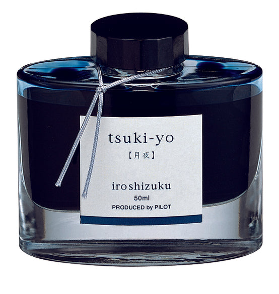 Pilot Iroshizuku Fountain Pen Ink - Tsukiyo (Moonlight) - 50ml Bottle-Fountain Pens Online