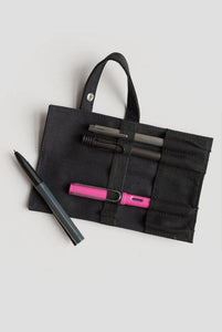 LAMY Roll Pen Case - Black-Fountain Pens Online