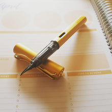 Load image into Gallery viewer, LAMY LX Fountain Pen - Medium Nib - Gold - Fountain Pens Online