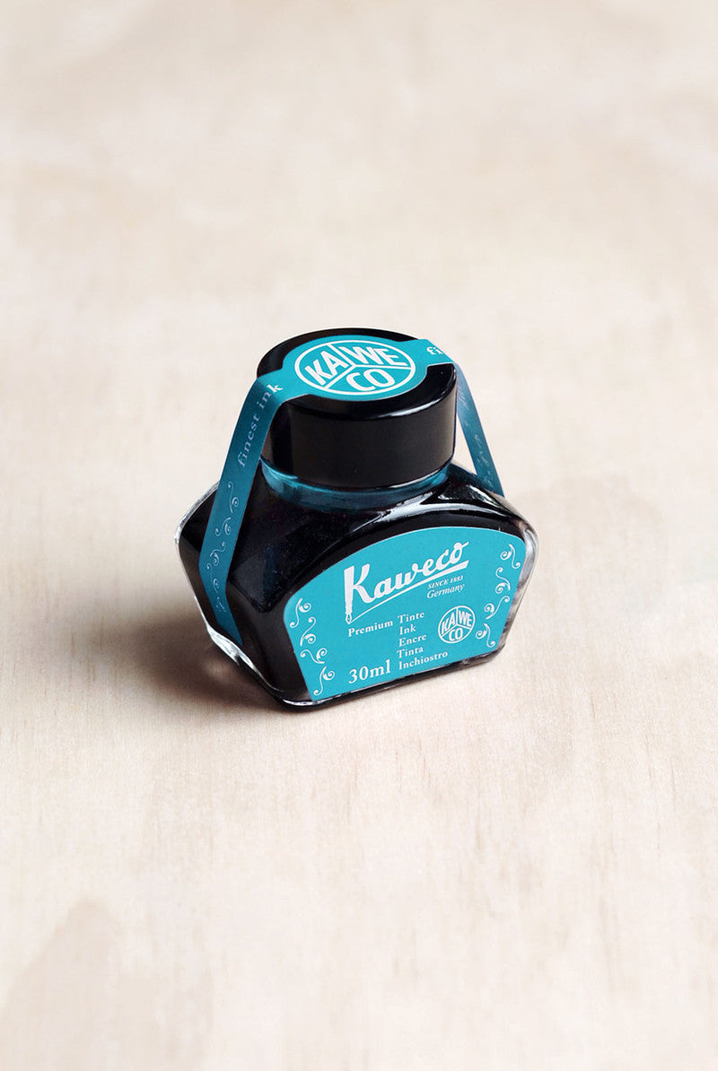 Kaweco Fountain Pen Ink - Paradise Blue - 30ml Bottle-Fountain Pens Online