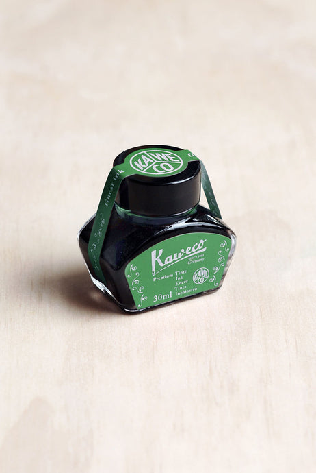 Kaweco Fountain Pen Ink - Palm Green - 30ml Bottle-Fountain Pens Online