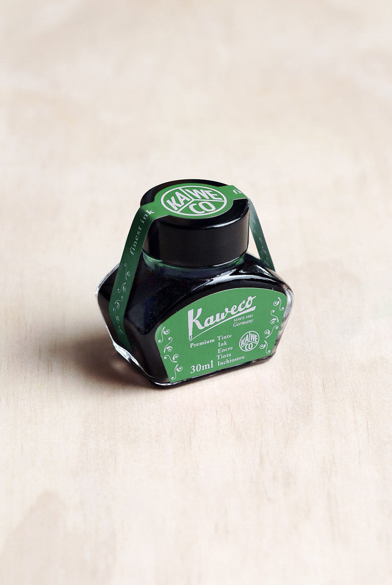 Kaweco Fountain Pen Ink - Palm Green - 30ml Bottle