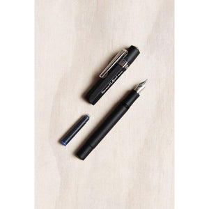 Kaweco AL Sport Fountain Pen - Medium Nib - Black-Fountain Pens Online